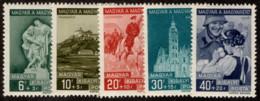 HUN SC #B98-102 MLH 1939 Patriotic Movement CV $5.30 - Hungary