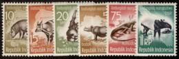 INO SC #473-8 MNH 1959 Animals CV $3.20 - Indonesia