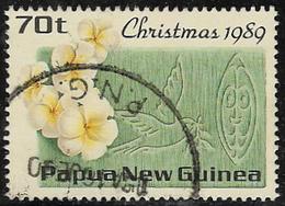 Papua New Guinea SG610 1989 Christmas 70t Good/fine Used [40/32560/2D] - Papouasie-Nouvelle-Guinée