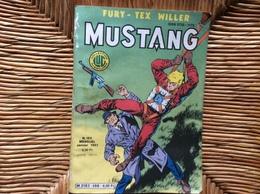 BANDE DESSINEE MUSTANG   No 106   ANNÉE 1985 - Mustang