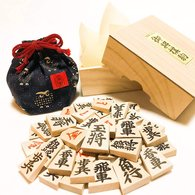 "Shogi Pieces  "" Tendō Shōgikoma Kaede ""  ( Suzuhanadō ) - Zonder Classificatie"