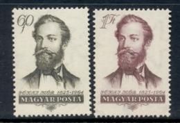 Hungary 1954 Maurus Jokai MUH - Ungarn
