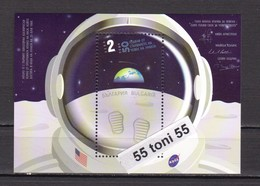 2019 SPACE 50 Years Since The MOON LANDING – S/S – MNH   Bulgaria / Bulgarie - Espacio