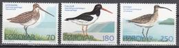 FAYROE ISLANDS      SCOTT NO. 28-30      MNH     YEAR  1977 - Faroe Islands
