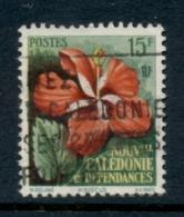 New Caledonia 1958 Flowers 15f FU - New Caledonia