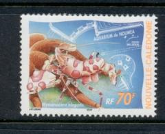 New Caledonia 2000 Noumea Aquarium 70f Shrimp MUH - Nueva Caledonia