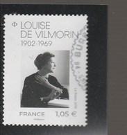 FRANCE 2019 LOUISE DE VILMORIN OBLITERE - Oblitérés