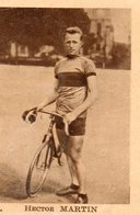 Chromo Chocolat Kemmel. 59. Bourbourg. Cyclisme. Coureur. Hector MARTIN. - Autres