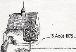 37. Carte D'invitation à Un Concert. PREUILLY SUR CLAISE.  La Berthellière.  Scan Du Verso.  1975. - Francia