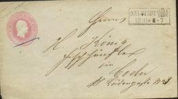 ~1853 NEUSTADT Cleve/Berg Ganzs. Bfh. Ein Silb.Gr. (ohne) N. Köln - Interi Postali