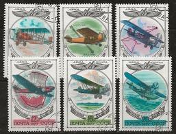 Russie 1977 N°Y.T. : PA. 124 à 129 Obl. - 1923-1991 USSR