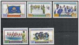 Barbados/Barbade: Cadetti Delle Barbados, Les Cadets De La Barbade, Cadets Of Barbados - Polizia – Gendarmeria