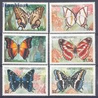 Grenada And Grenadines 1997 Mi 2545-2550 MNH ( ZS2 GGR2545-2550 ) - Butterflies