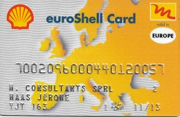Carte De Carburant Shell - Autres Collections