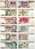 Poland 1982-88 - Set 20+50+100+200+500+1000 Zlotych - Pick 149-146 UNC - Pologne