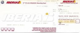 Carte D'embarquement Iberia - Vol IB3214 Vers Bruxelles - Instapkaart
