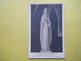 PARIS. L'Eglise Saint Antoine De Padoue. Sainte Thérèse De L'Enfant Jésus. - Churches