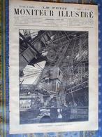 LE PETIT MONITEUR ILLUSTRE 09/06/1889 EXPOSITION UNIVERSELLE PARIS TOUR EIFFEL ASCENSEUR EXPOSITION CANINE CHIEN COCHER - 1850 - 1899
