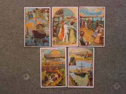 6 X CHOCOLATE CARDS, EARLY 1900S - Other