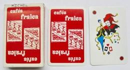 JEU DE 32 CARTES + 1 JOKER AVEC ETUI CAFES FRAICA / CARTES A JOUER HERON MADE IN FRANCE - Cartes à Jouer Classiques