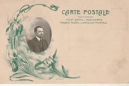 Carte - Photo : à Système : Portrait D'homme ( Art Nouveau ) - Photographs