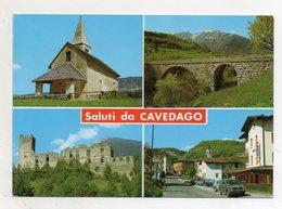 Cavedago (Trento) - Saluti Da - Cartolina Multipanoramica - Viaggiata Nel 1996 - (FDC16323) - Trento