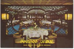 °°° 13469 - HONG KONG - HOTEL MIRAMAR - BAMBOO GROVE °°° - Cina (Hong Kong)