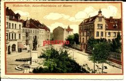 Cpa  Mulheim Ruhr Kaiser Friedrichplats  Kaserne  Caserne 15/17 - Mülheim A. D. Ruhr