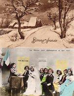 Lot + De 100 Cpa Divers Thémes Carte-Photo,Humour,Tableaux,Fêtes,Etc.... (5 Ou 6 Cpsm PF) - 100 - 499 Postcards