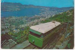 °°° 13470 - THE HONG KONG PEAK TRAMWAY - 1969 °°° - Cina (Hong Kong)