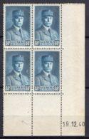 FRANCE ( COINS DATES ) Y&T N° 471  DU  19/12/1940  TIMBRES  NEUFS  SANS  TRACE  DE  CHARNIERE . - 1940-1949