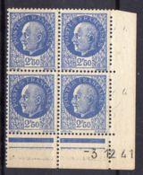 FRANCE ( COINS DATES ) Y&T N°  520  DU  03/12/1941  TIMBRES  NEUFS  SANS  TRACE  DE  CHARNIERE . - 1940-1949