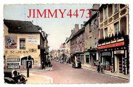 CPSM Dentelées - Rue Saint Jean Bien Animée - BAYEUX 14 Calvados- N° 52  Edit. GABY Artaud Père Et Fils Nantes - Bayeux