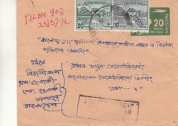 Bangladesh - Lettre De 1972 - Entiers Postaux - Avec Griffe Jessore District - Bangladesh