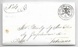 DAL SINDACO DI ALBACINA A FABRIANO - 29.12.1853 - RARA. - Italia
