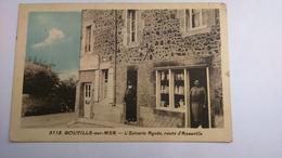 Carte Postale ( V7 ) Ancienne De Gouville Sur Mer , L épicerie AGNES , Route D Anneville - Autres Communes