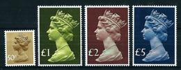 Gran Bretaña Nº 821/4 Nuevo Cat.55€ - 1952-.... (Elisabeth II.)