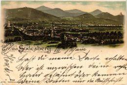 CPA AK Godesberg � Total Ansicht � Litho GERMANY (856842) - Otros