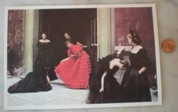 1 Carte Postale DEBORAH TURBEVILLE Valentino Paris 1978 - Fashion