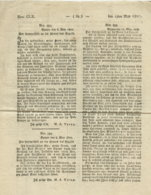 1807 Speyer,Erfassung Der Kantone Zwecks Steuererhebungen A. 4 S. - Historical Documents