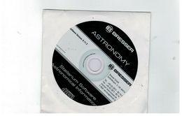 CD ASTRONOMY STELLARIUM SOFTWARE ASTRONOMICAL INFORMATION BRESSER - CD