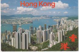 °°° 13472 - HONG KONG & KOWLOON FROM THE PEAK - 1987 °°° - Cina (Hong Kong)
