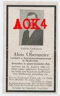 01 13 AIX EN PROVENCE DAGNEUX Sterbebild Carte De Deces 1943 Cimetiere Occupation Allemande Obermeier Wehrmacht - 1939-45