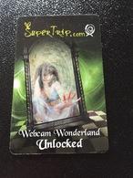 Hotelkarte Room Key Keycard Clef De Hotel Tarjeta Hotel HARD ROCK HOTEL LAS VEGAS Webcam Wonderland Unlocked - Telefonkarten