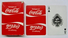 JEU DE 52 CARTES AVEC ETUI 2013 PARTAGEZ UN COCA-COLA - Cartes à Jouer Classiques