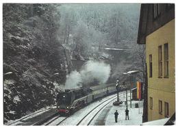 """Z02 - Railways Steam Train - Lok 18 201 Mit Historischen """"Rheingold"""" In Oberhof Mai 1984 - Trains"""