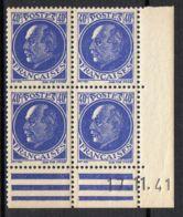 FRANCE ( COINS DATES ) Y&T N°  507  DU  17/11/1941  TIMBRES  NEUFS  SANS  TRACE  DE  CHARNIERE . - 1940-1949