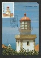 CARTE MAXIMUM - MAXICARD - MAXIMUMKARTE - MAXIMUM CARD - PORTUGAL - PHARE FIGUEIRA DA FOZ - Leuchttürme