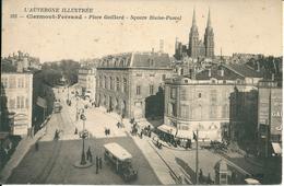Clermont-Ferrand - Place Gaillard - Square Blaise-Pascal - Clermont Ferrand