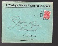 1913 J. Waringa Oude Koemarkt 119 Sneek > J.L. Van Gorkum Arum (FC-29) - Briefe U. Dokumente